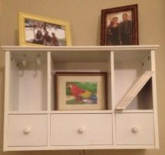 white tiny shelves