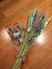 Shoes + flowers